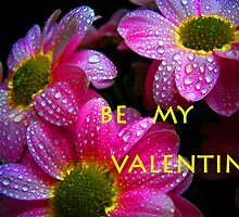 Be my Valentine.Greeting card. by Vitta