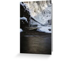 Icicle Collection Greeting Card