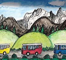 Mountain Travel by Monica Engeler