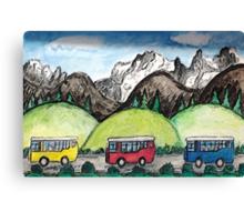 Mountain Travel Canvas Print