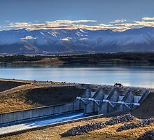 Lake Pukaki and Gate 19 by Tony Burton