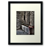 The Bathroom Framed Print