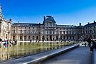 louvre museum, paris by gary roberts