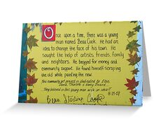 Once upon a time.... Greeting Card
