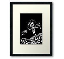 The Healer Framed Print