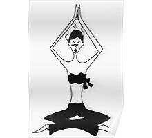 Yoga Wall Art Poster