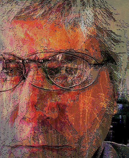 keeping an open mind on things....... abstract self by banrai