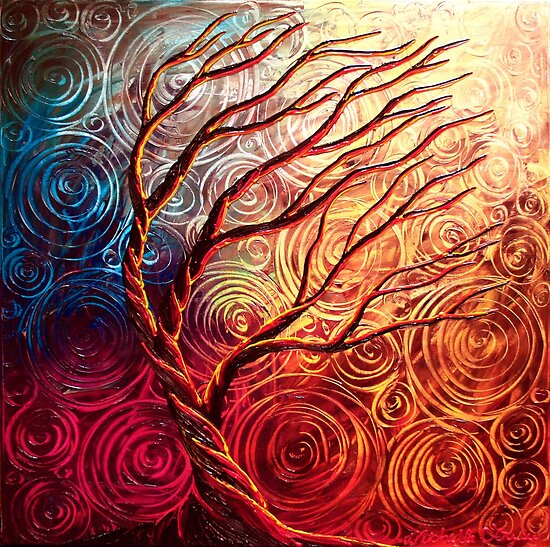 The Uprising Tree by Abstract D&#x27;Oyley