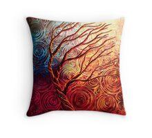 The Uprising Tree Throw Pillow