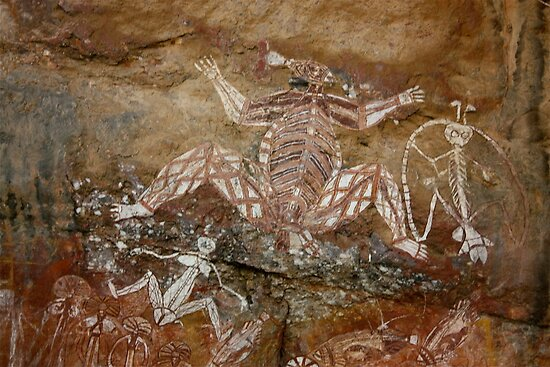 Aboriginal Rock Art by Robert Stephens