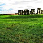 Great Britain. Stonehenge from Distance. 2009 by Igor Pozdnyakov
