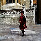 London. London Tower,a Beefeater. Great Britain 2009 by Igor Pozdnyakov