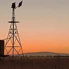 Sundown in Rural Victoria by Hicksy