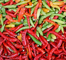 Chilis by Alex  Bramwell
