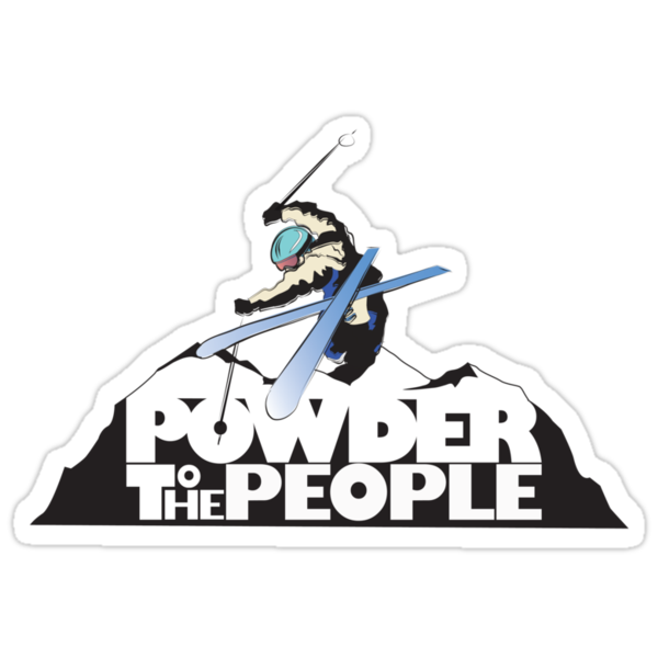 powder to the people by SFDesignstudio
