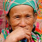 Flower Hmong by Alex  Bramwell