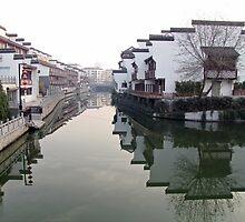 China, 2010, Nanjing, Reflections by DaveLambert