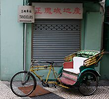 Macau Tricycle by Alex  Bramwell