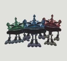 Battle ship frogs by Malkman