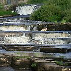 The Cascades Waterfalls in Ennistymon, Clare, Ireland by CFoley