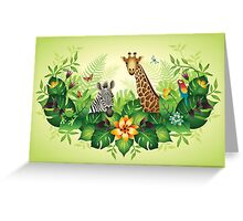 Jungle Magic Greeting Card
