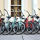 Bicycles at the Ready by bendandpeel