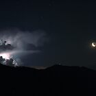Stormy Occultation by Stefano  De Rosa