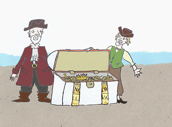 Treasure chest by Sanne Thijs