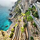 Via Krupp, Capri by andreisky