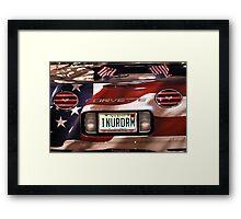 Dream Corvette Framed Print