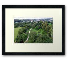 Blarney Castle Grounds & Blarney Town, Cork, Ireland Framed Print
