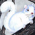Lovely Albino Art Print by dorcas13