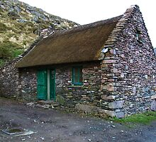 Thatched Cottage, Cill Rialaig Village - Ballinskelligs, Kerry, Ireland by CFoley