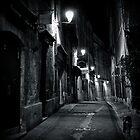 Dark Street - Montpellier, France - 2009 by Nicolas Perriault