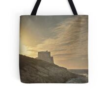 Textured Xlendi Sunset Tote Bag