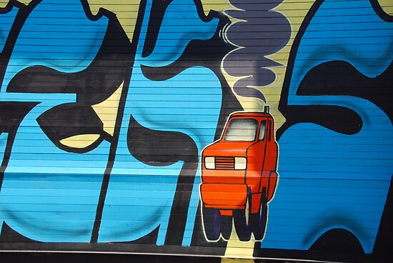 Urban Art: 404 McGuinness Blvd  by John Schneider
