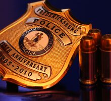 Happy 125th Fredericksburg PD!! by nightsblood