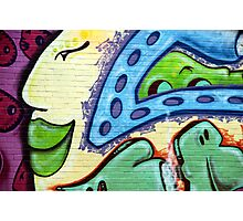 Graffiti Beauty Photographic Print