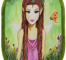AUTUMN FAIRY by danita clark