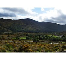Under the  Macgillycuddy Reeks - Killarney, Kerry, Ireland Photographic Print