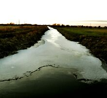 River of ice. by Ruth  Jones