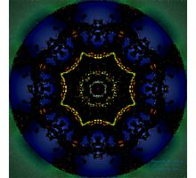 Photoshopped Kaleidoscope Photographic Print