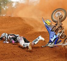 Moto x rider eating dirt by MidnightRocker