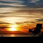 Enjoying the Moment - Coronado, San Diego by Michael Chong