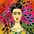 "FRIDA KAHLO ""Primavera"" by Frances Perea"