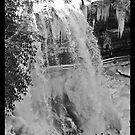 Frozen Dry Falls by Karen Kaleta