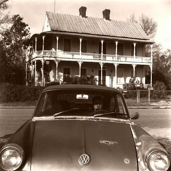 An Old VW. by Jay Reed