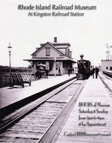Kingston Station 1875 - Rhode Island - Poster by Jack McCabe