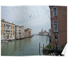 Flying over Venice Poster