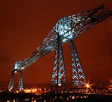 Transporter Bridge, River Tees, Middlesbrough by richieh755